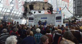 Leipziger Buchmesse (Foto: J. Strauß, Wikimedia Commons, CC BY-SA 3.0)