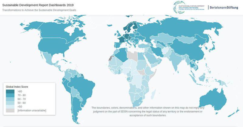 Source: Rapport sur le développement durable 2019