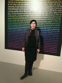 Rosa Ferré, directora de programa del Centro de Cultura Contemporánea de Barcelona, foto: Dominika Bernáthová