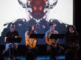 Lecture scénique de la pièce 'La Médaille', photo: Irena Vodáková