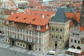 Kinsky Palace on Old Town Square