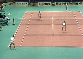 Davis Cup doubles final in 1980, photo: Czech Television