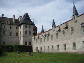 El palacio de Žleby, foto: Archivo de Radio Praga