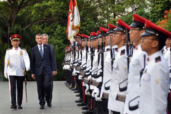 Андрей Бабиш в Сингапуре, фото: ЧТК / Радек Йозифек