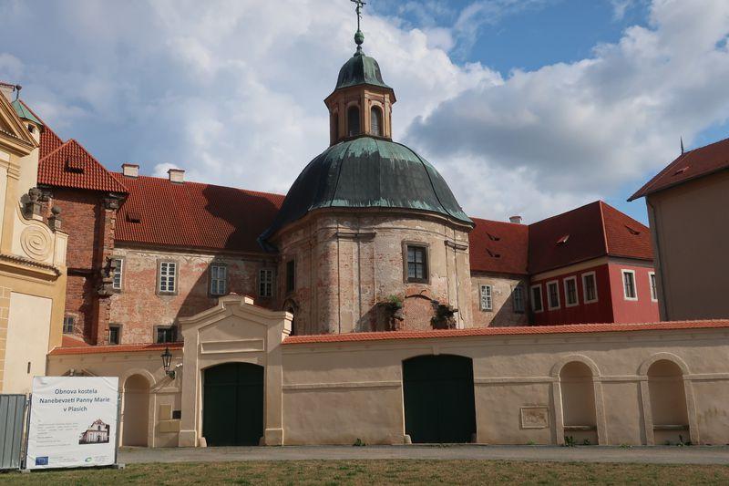 Kloster Plasy (Foto: Martina Schneibergová)