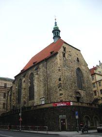 La iglesia de San Venceslao en la zona Na Zderaze, foto: Olga Vasinkevich