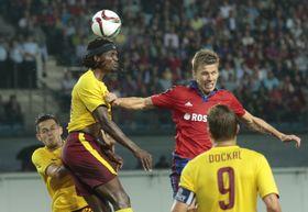CSKA Moscou - Sparta Prague, photo: ČTK