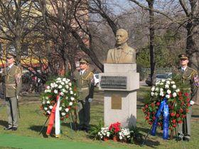 Busto de Benito Juárez, , Plaza de la Interbrigada, Praga, foto: Jorge de Borja
