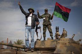 Los rebeldes de Bengasi, Libia, foto: ČTK