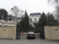 L'ambassade de Russie à Prague, photo: ČTK