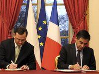 Petr Nečas et François Fillon, photo: CTK