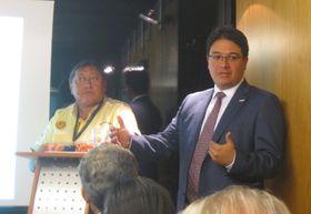 José López, Vicente Salas, foto: Gonzalo Núñez