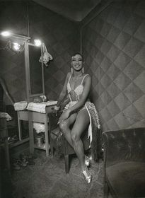 Josephine Baker en su camerino, 1930
