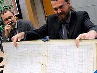 Pavel Žáček, directeur de l'Institut d'études des régimes totalitaires et Martin Pulec, photo: CTK