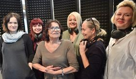 Natálie Kocábová, Blanka Šrůmová, Marta Kubišová, Naďa Válová, Bára Basiková, Tereza Černochová, photo: CTK