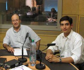 Freddy Valverde (a la izquierda) y Carlos González-Shánel
