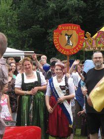 Festumzug der Glasmacher in Annín (Foto: Martina Schneibergová)