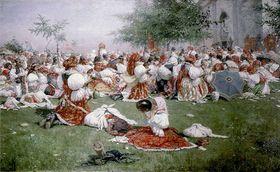Una pintura de Joža Uprka, foto: free domain