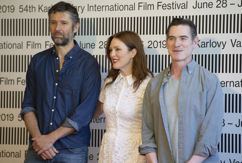 Billy Crudup, Julianne Moore and Bart Freundlich, photo: ČTK/Šulová Kateřina