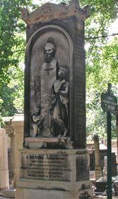 Могила Антонина Рейхи на Пер-Лашез, Фото: Louis Fernández García, CC BY-SA 2.1 ES