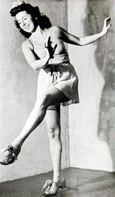 Meda Mládková jako tanečnice, foto: Soukromý archiv Medy Mládkové