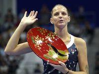 Karolína Plíšková, photo: ČTK/AP/Eugene Hoshiko