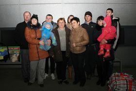 Переселенцы из Украины после прибытия в Чехию, Фото: архив МВД ЧР