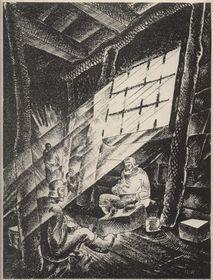Альфред Кунфт: «Перед транспортом», 1923 (Фото: Либерецкая галерея)