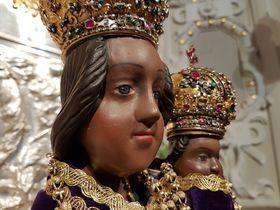 La Vierge et l'Enfant Jésus, photo: Ondřej Tomšů