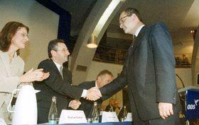 Miroslav Kalousek, invitado al congreso del Partido Cívico Democrático, foto: CTK