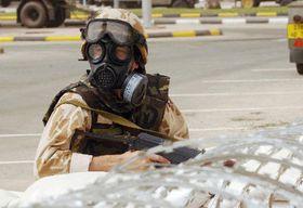 Unidad antiquímica checa en Kuwait, foto: CTK