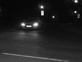 Видимость ночью, фото: ВУТ Брно