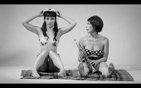 Adéla Mrázová und Terezie Křížkovská, foto: Archiv der Ausstellung Na Film