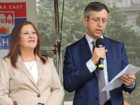 Embajadora de Perú y Embajador de Argentina, foto: Julia Rios