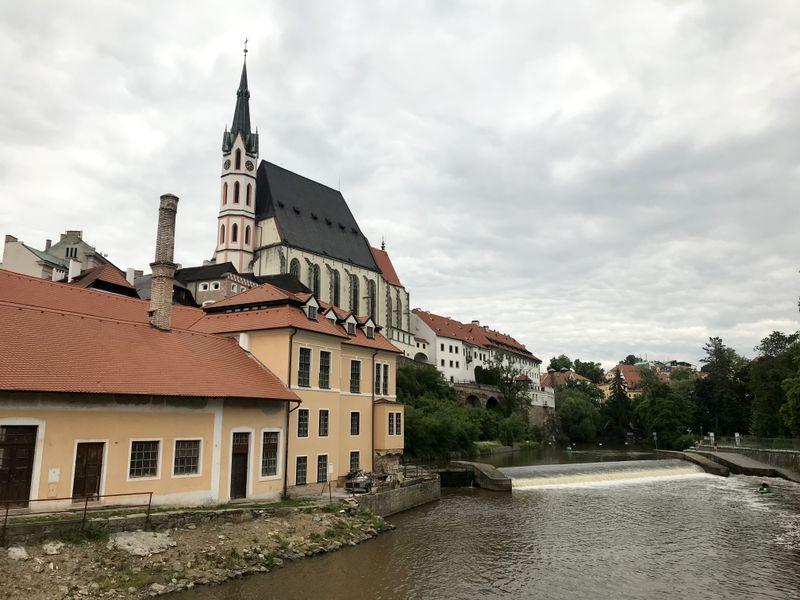 Český Krumlov, photo: Tifenn Pille
