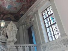 La escalera principal con las estatuas de Mattias Bernardo Braun, foto: Dominika Bernáthová