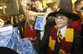 Sale of the fifth volume of Harry Potter, photo: CTK