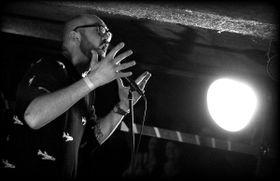 Simon Raket, photo: Tomáš Kůs / Facebook de Slam Poetry CZ