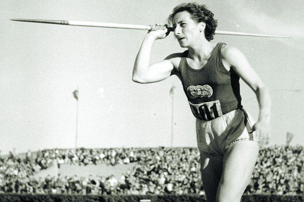 Dana Zátopková, photo: Ivana Roháčková, Archives d'ASC Dukla