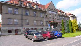 Krankenhaus in Rumburk (Foto: ČT24)