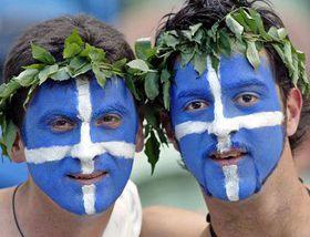 Greek football fans, photo: CTK