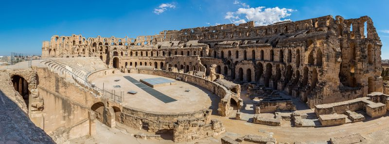 L'amphithéâtre El Jem, photo: Diego Delso, CC BY-SA 4.0