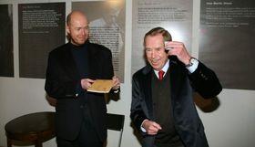 Мартин Ц. Путна с Вацлавом Гавелом (Фото: Библиотека Вацлава Гавла)