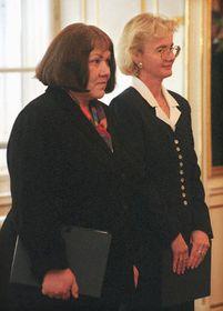 Элишка Вагнерова и Ива Брожова (Фото: ЧТК)