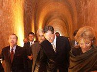 Slavnostní otevření tunelu, Foto: ČTK