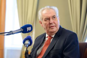Miloš Zeman, photo: Khalil Baalbaki