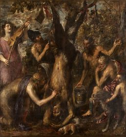 Titian - 'Apollo and Marsyas'