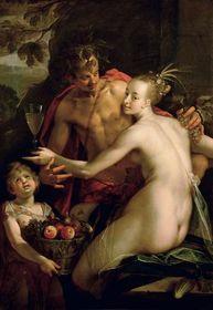 """Hans von Aachen: """"Bacchus, Ceres und Amor"""""""