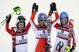 Kathrin Zettel, Šárka Záhrobská, Marlies Schild, photo: CTK