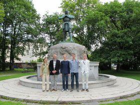Marie Bémová (ganz links). Foto: Martina Schneibergová